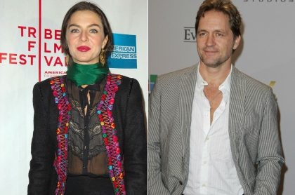 Margarita Rosa de Francisco, actriz, y Guy Ecker, actor.