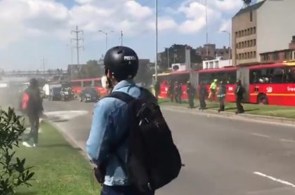 Disturbios Universidad Nacional