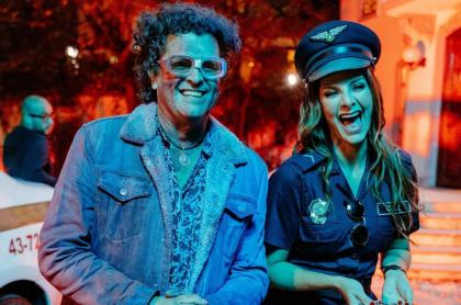 Carlos Vives y Carolina Cruz en video 'No te vayas'