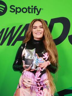 Karol G y J Balvin, en los Spotify Awards