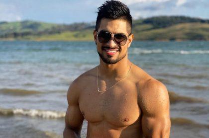 Juan David Aldana, actor, modelo y deportista.