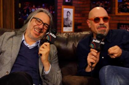 Martín de Francisco y Santiago Moure en 'La tele letal'