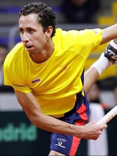 Daniel Galán, quien avanzó a segunda ronda de Roland Garros