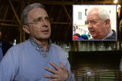 Álvaro Uribe, senador y expresidente, y Mario Uribe, excongresista.