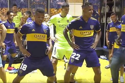 Frank Fabra y Sebastián Villa