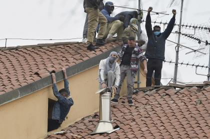 Motines en Italia, a causa del coronavirus