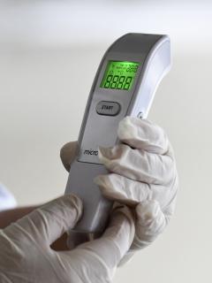 Termómetro para coronavirus