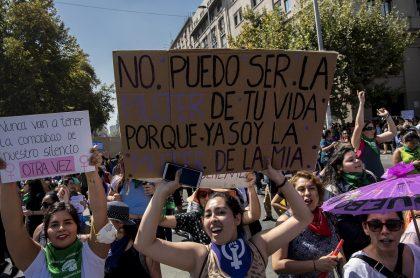 Manifestaciones feministas en Chile