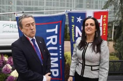 Hermann Tertsch y María Fernanda Cabal