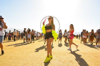 Mujer en Coachella