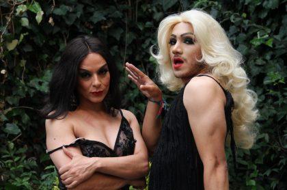 Endry Cardeño y la 'Diva Rebeca'