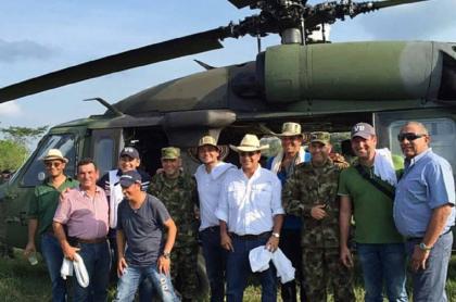'Ñeñe' Hernández con el Ejército