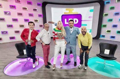 Juan Carlos Giraldo, Carlos Giraldo, Mary Méndez, Frank Solano y Carlos Vargas, presentadores de 'La red'.