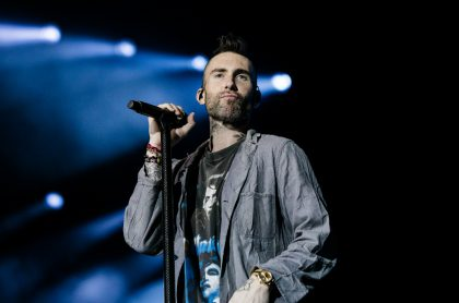Adam Levine, vocalista de Maroon 5