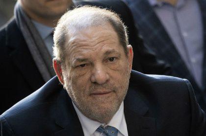 Harvey Weinstein, productor de Hollywood condenado por agresión sexual y violación.
