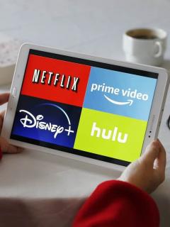 Tableta con plataformas de 'streaming'