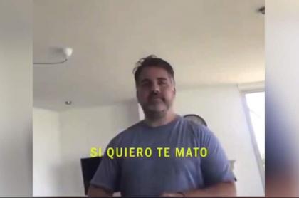 Concejal argentino amenaza a su novia.