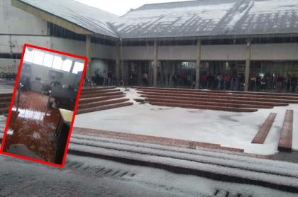 Universidad Nacional, una de las más afectadas por las lluvias en Bogotá