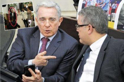 Uribe explica su presencia en boda de hija de 'Cayita' Daza