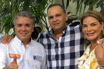 Iván Duque, 'Ñeñe' Hernández y María Mónica Urbina