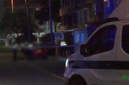 Lugar del crimen en el barrio Santa Isabel