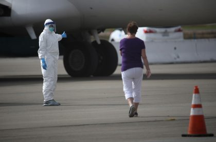 Controles en aeropuerto contra el Coronavirus