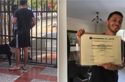 Graduado de la Universidad del Norte de Barranquilla