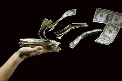 Dólares que perdió el hombre más rico de Colombia
