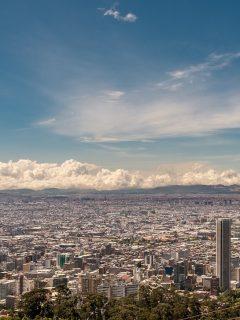 Bogotá sigue sufriendo por la contaminación