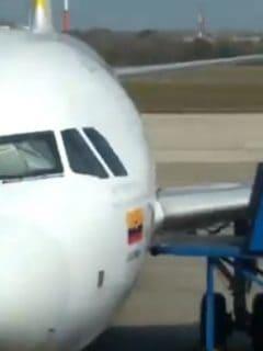 Avión de Viva Air en Barranquilla