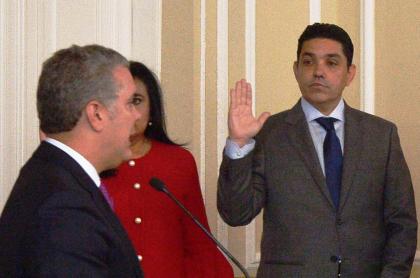 Iván Duque y Jaime Luis Lacouture