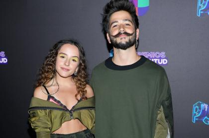 Evaluna Montaner y Camilo Echeverry, cantantes y esposos.