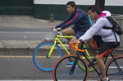 Ciclovía en Bogotá