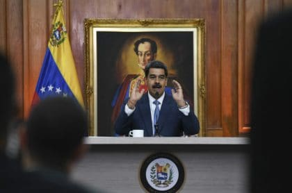 Maduro pide plata al FMI para combatir coronavirus
