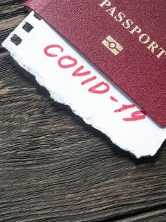 Viajeros, coronavirus
