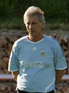 Lionel Messi y José Pékerman