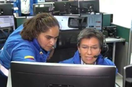 Imagen de centro de despacho de Alcaldía de Bogotá