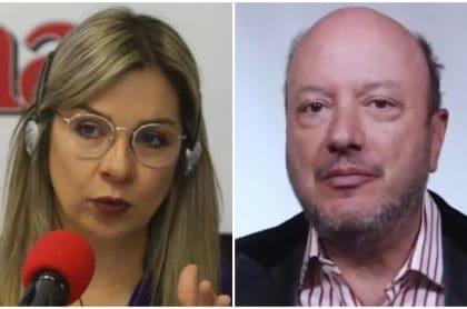 Vicky Dávila y Julio Sánchez Critsto