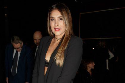 Daniela Ospina, modelo y empresaria.