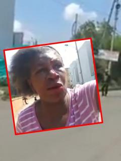 Asonada con la Policía en Cali