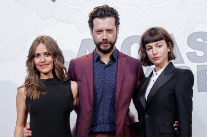 Itziar Ituno, Alvaro Morte y Ursula Corbero