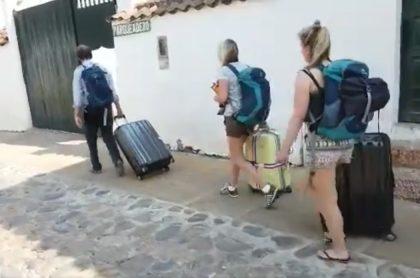 Holandeses en Villa de Leyva