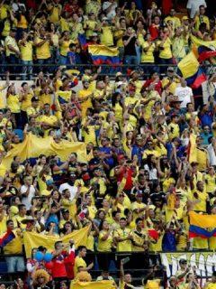Hinchas Selección Colombia