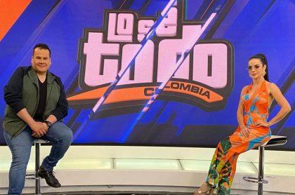 Ariel Osorio y Elianis garrido, presentadores.