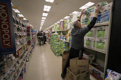 Supermercado papel higiénico