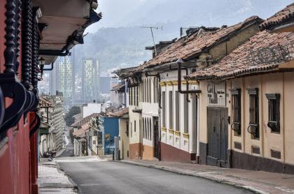 Cuarentena en Bogotá, Colombia, durante pandemia de coronavirus COVID-19