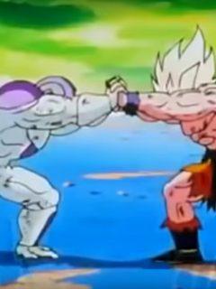 Goku y Freezer se unieron en la dura batalla contra el COVID-19
