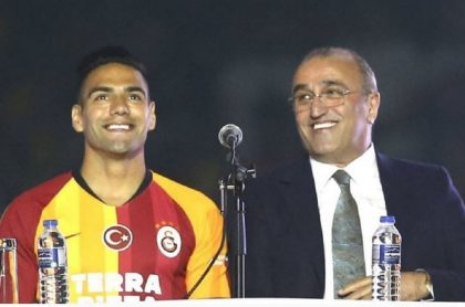Falcao García y Abdurrahim Albayrak