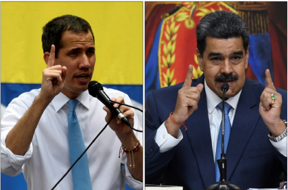 Juan Guaidó y Nicolás Maduro ahora en pugna por cifras de coronavirus