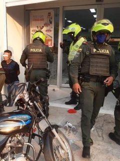 Asaltos en motos en Santa Marta